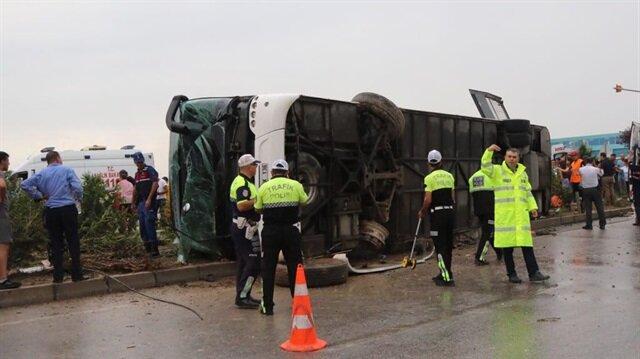 Polis, kazayla ilgili soruşturma başlattı.