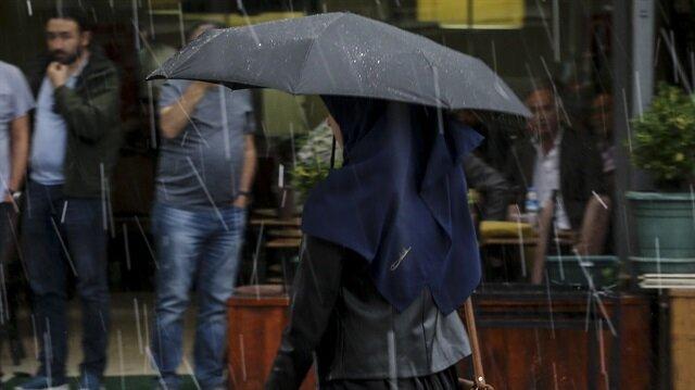 İstanbul ve 18 ile yağış uyarı