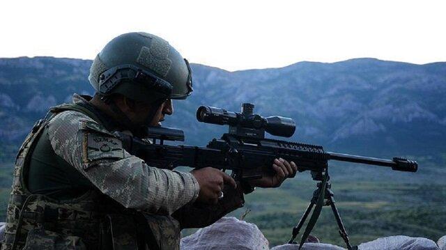 Turuncu kategoride aranan terörist öldürüldü.