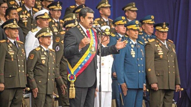 Maduro'ya suikast girişimi