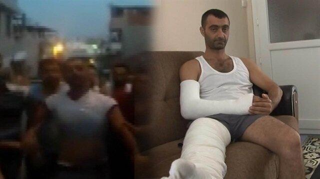 Hırsız sanılan taksiciyi 30 kişi öldüresiye dövdü!