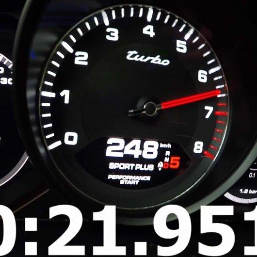 Son sürat hıza 1 dakikada ulaşıyor