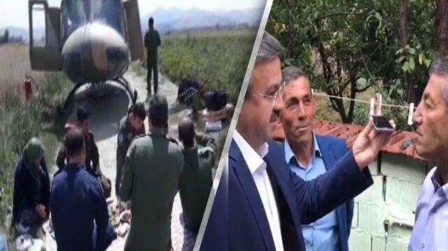 Askerlere yer sofrası kuran aileye Bakan Soyludan özel teşekkür