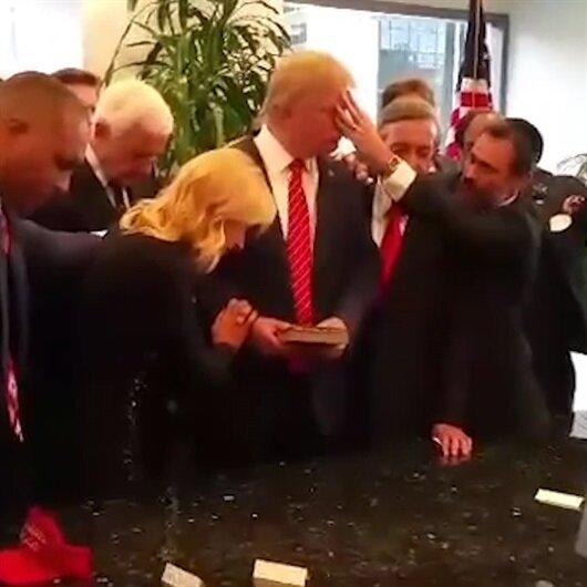 Evangelistler Trump için böyle dua etmişti