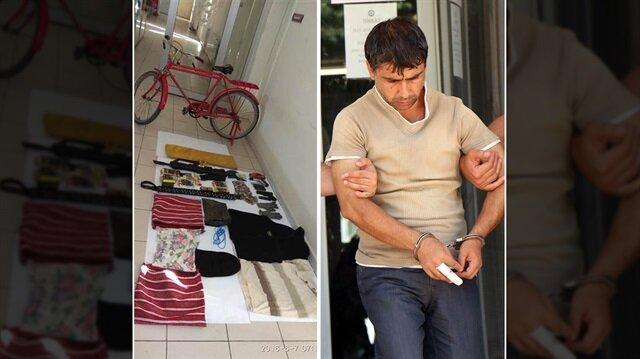 Kırmızı bisikletli seri katil yakalandı