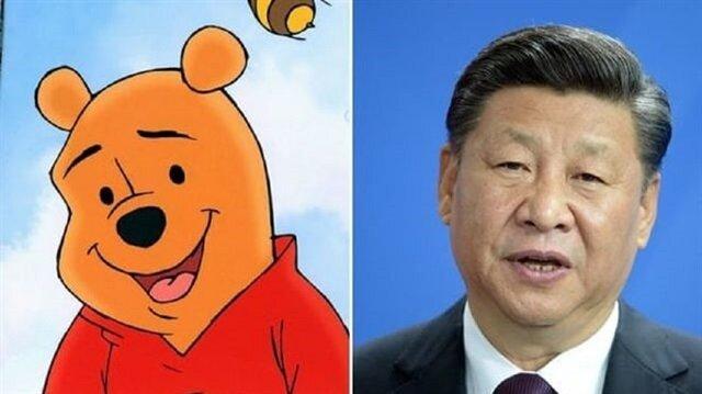 Çin Şi'ye benzediği için Winnie the Pooh'u yasakladı