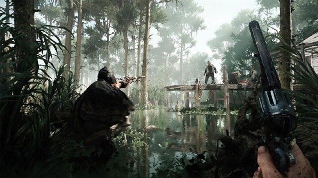 Hunt:Showdown oyunundan bir kare.