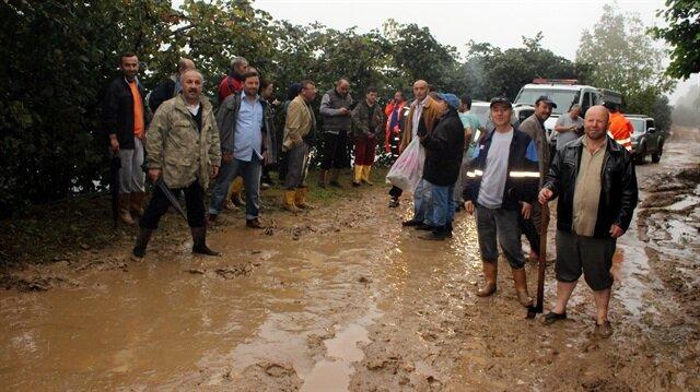 Ordu'daki sel 100 mahallede hasara neden oldu