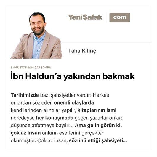 İbn Haldun'a yakından bakmak