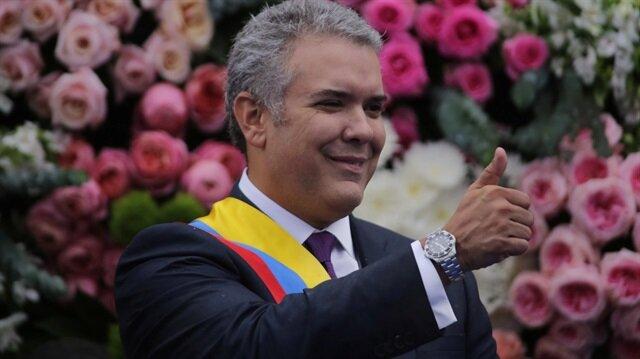 Kolombiya'nın yeni devlet başkanı Ivan Duque göreve başladı