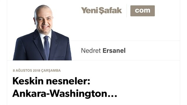 Keskin nesneler: Ankara-Washington...