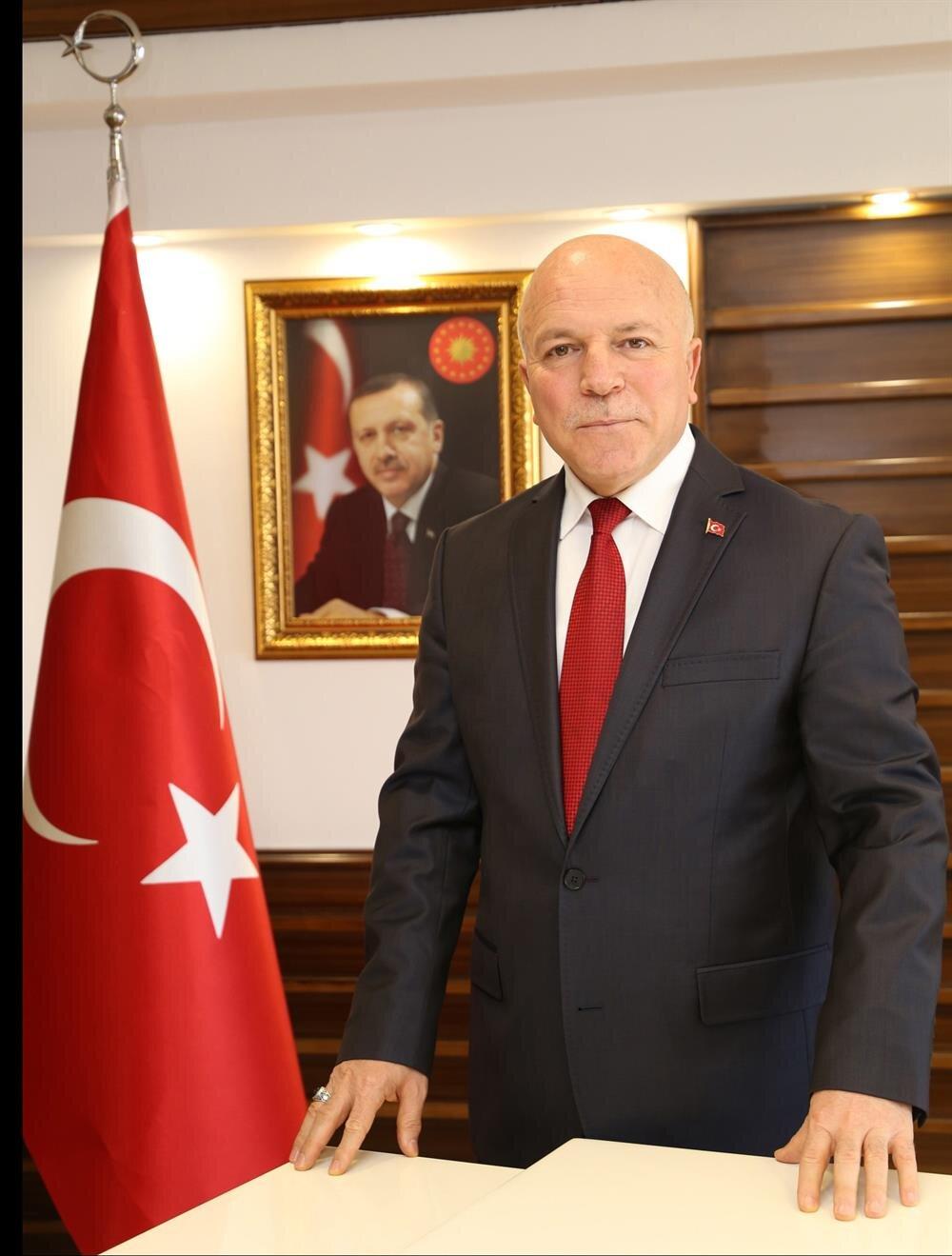 Erzurum Büyükşehir Belediye Başkanı Mehmet Sekmen.