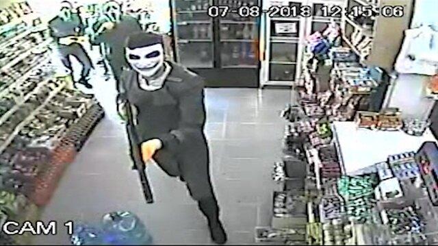 Maskelerle market soyan PKK'lı gaspçılar yakalandı