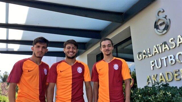 Galatasaray genç isimlerine imzayı attırdı
