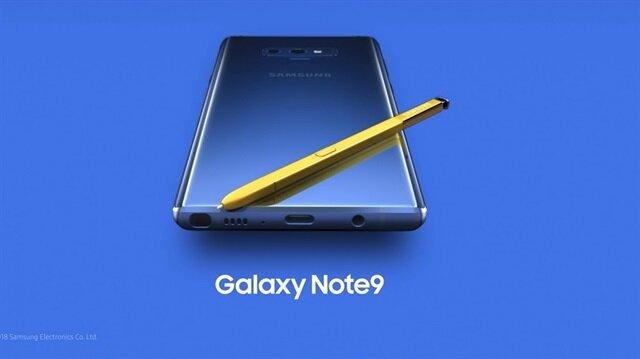 Samsung yeni amiral gemisi Note 9'u tanıtıyor