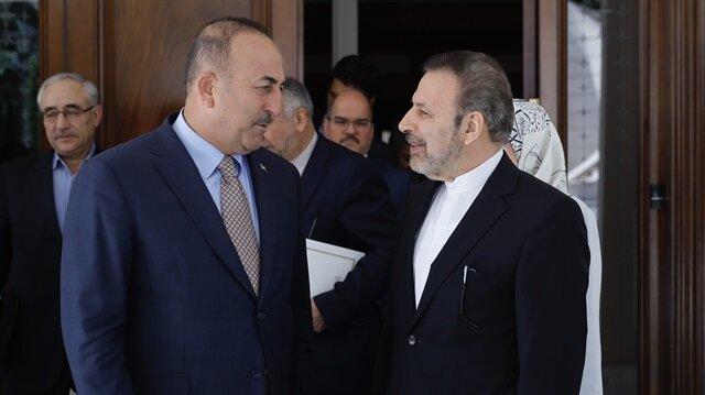 جاويش أوغلو في استقبال رئيس مكتب الرئيس الإيراني