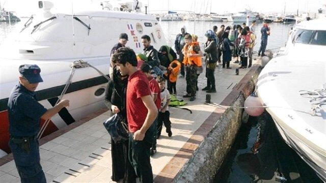 Edirne'de 198 düzensiz göçmen yakalandı