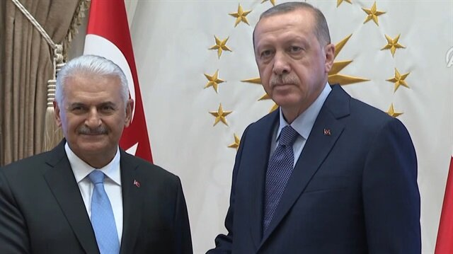 Cumhurbaşkanı Erdoğan, TBMM Başkanı Yıldırım ile görüştü