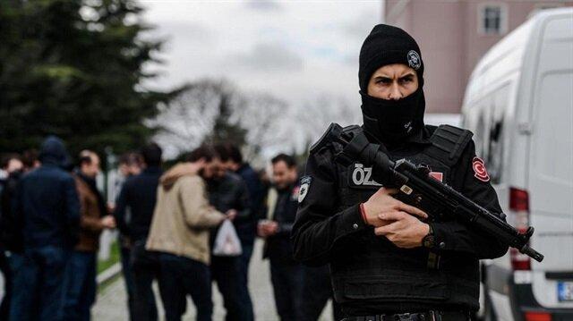 عنصر من قوات الأمن التركية