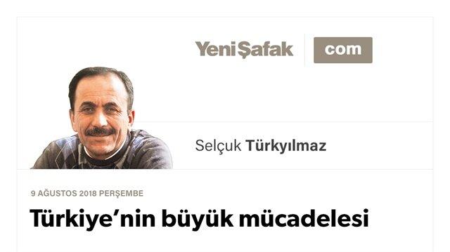 Türkiye'nin büyük mücadelesi