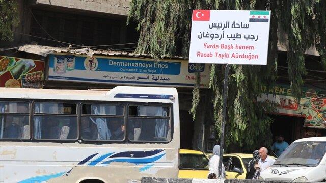 Afrin Yerel Meclisi, ilçe merkezindeki üç bulvarın ismini değiştirdi.
