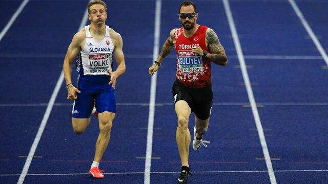 Ramil Guliyev, Avrupa Şampiyonası 200 metre yarışında  rekor kırarak altın madalyanın sahibi oldu.