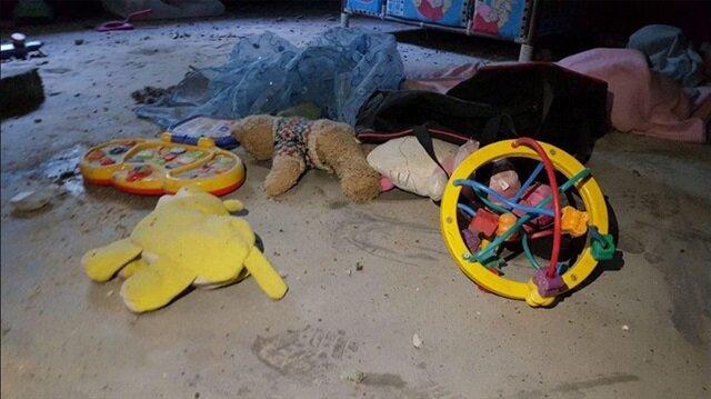 İsrail sivillere katliam yağdırdı: 2 çocuk 1 anne şehit