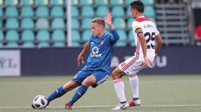 Feyenoord, deplasmanda Trencin takımına 4-0 mağlup oldu.