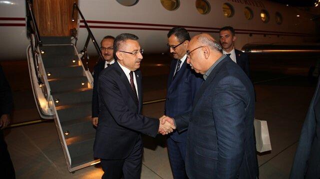 Başkan Yardımcısı Oktay ile AK Parti Ordu Milletvekili Şenel Yediyıldız