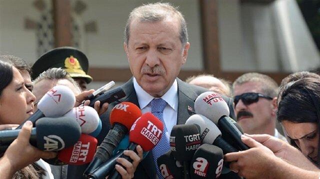تصريحات أردوغان لوسائل الإعلام بعد صلاة الجمعة