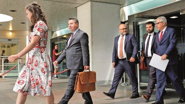 ABD'li yetkililerle görüşen heyet dün Türkiye'ye döndü.