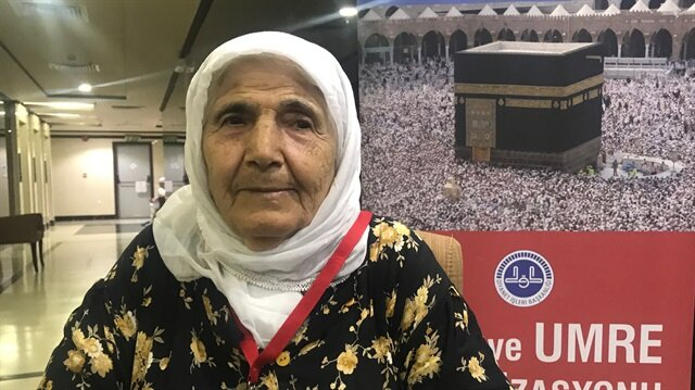 103-year-old Ayşe Topsoy finally makes it to holy city of Mecca