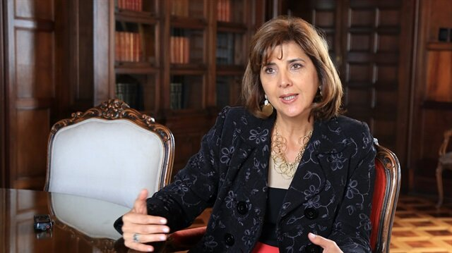 Former Colombian Foreign Minister Maria Angela Holguin Cuellar