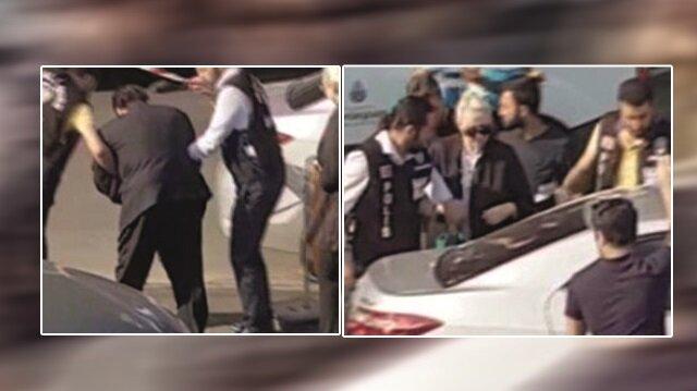 Peşindeki polisleri atlatabilmek için trafiğe karışan Adnan Oktar, Sarıyer'de yakayı ele vermişti.