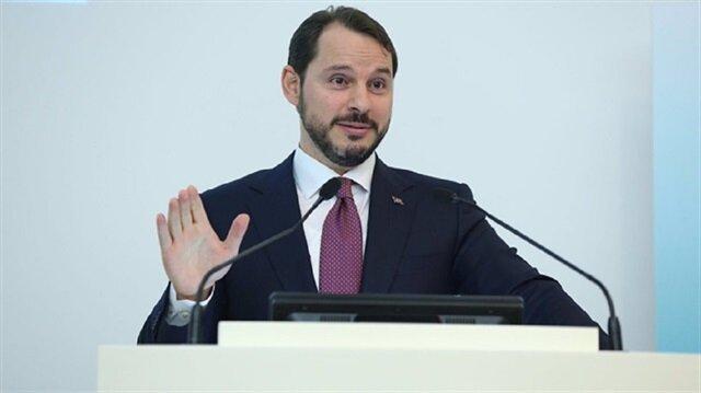 وزير الخزانة والمالية التركي برات ألبيرق