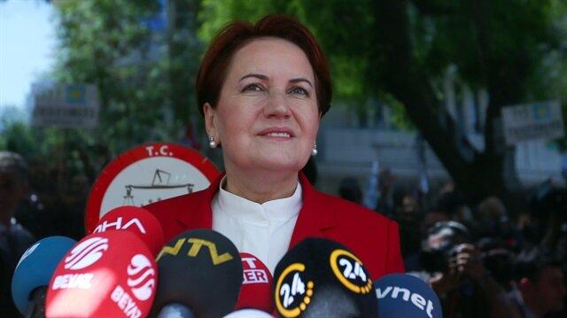 İyi Parti Genel Başkanı Akşener, son gelişmelerle ilgili hükümete destek mesajı verdi.