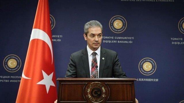 الناطق باسم الخارجية التركية حامي أقصوي