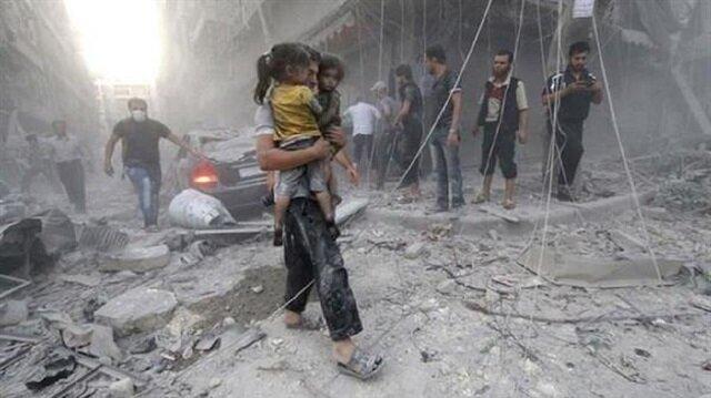 قصف مدن الشمال السوري