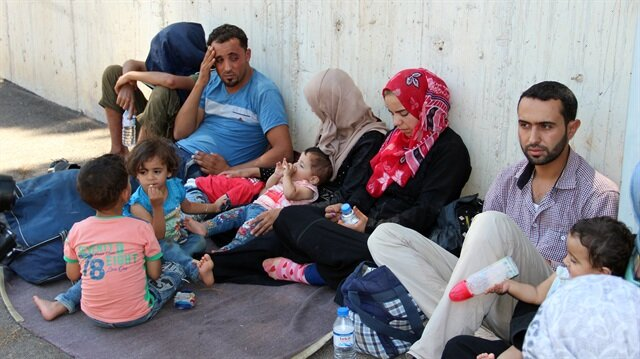 Migrants held in southern Hatay province and eastern Muş province