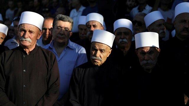 """""""Yahudi ulus devlet"""" yasasının ardından ülkede Dürziler protesto gösterileri düzenledi."""