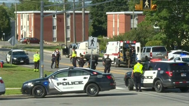 Two police officers among four fatally shot in Canada: authorities