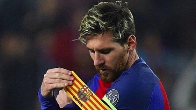 Lionel Messi, Iniesta'nın gidişi sonrasında Barcelona'nın birinci kaptanı oldu.