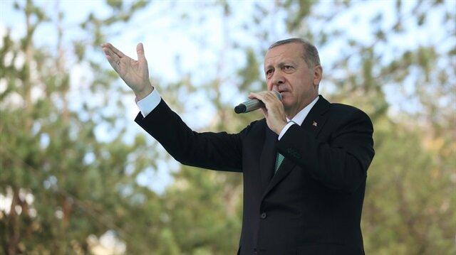 Cumhurbaşkanı Erdoğan: Bu millete kabadayılık sökmez