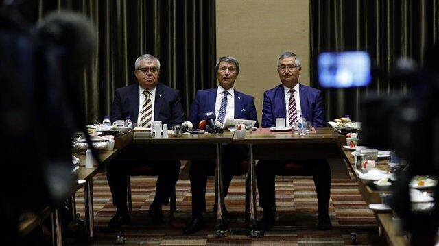 Yusuf Halaçoğlu, Nevzat Bor ve Özcan yeniçeri İyi Parti'den istifa etmişti.