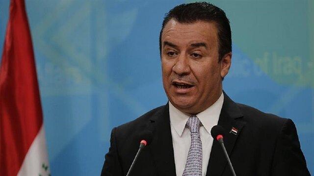 Iraq's Foreign Ministry spokesman Ahmed Mahjoob