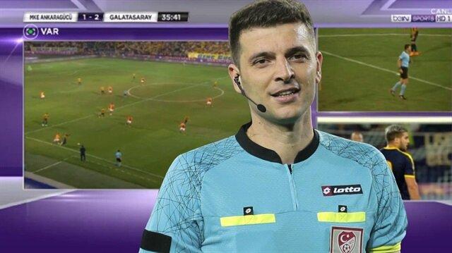Ankaragücü-Galatasaray maçının hakemi Ümit Öztürk, verdiği ofsayt kararıyla tartışma çıkardı.