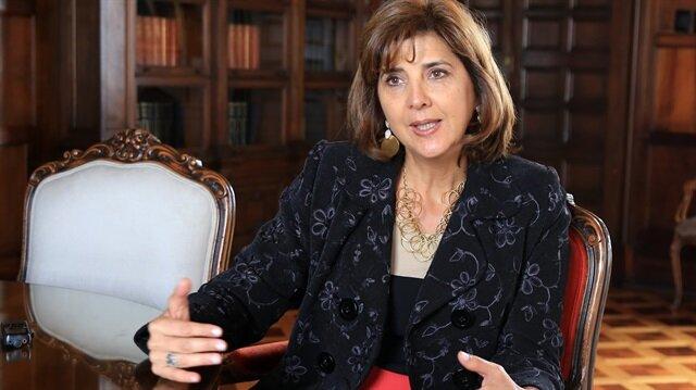 Kolombiya eski Dışişleri Bakanı Maria Angela Holguin Cuellar
