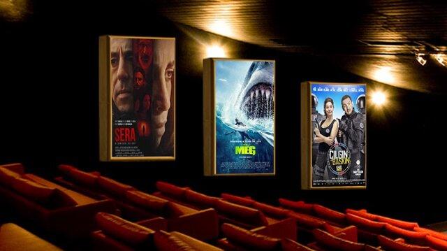 Bugün 3'ü yerli olmak üzere toplam 10 film vizyona girdi.
