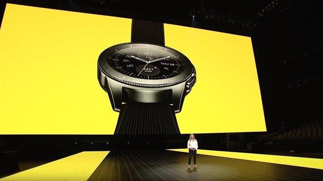 Samsung Galaxy Watch tanıtıldı