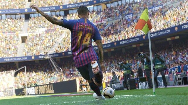 PES 2019 oyun için görseli.